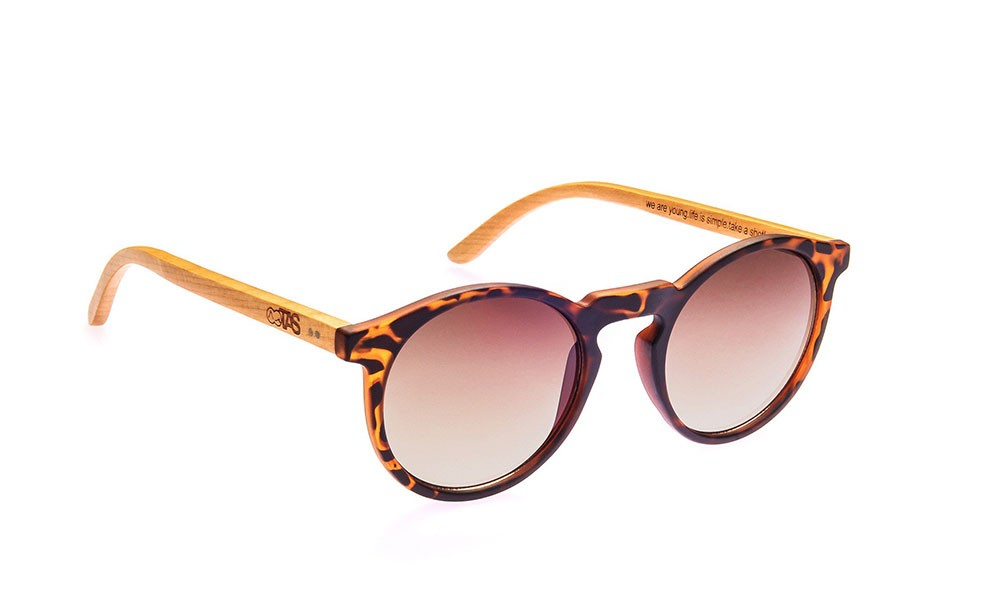 Take A Shot Ronja Walnut brown Lunettes de Soleil G5YBi