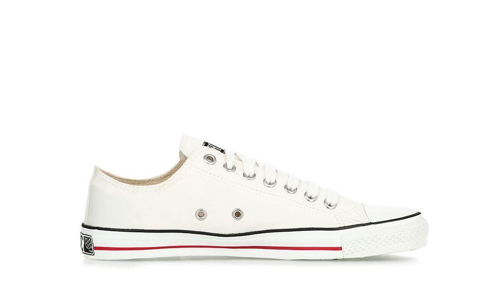 Veganer Sneaker | ETHLETIC Fair Trainer White Cap Lo Cut Just White