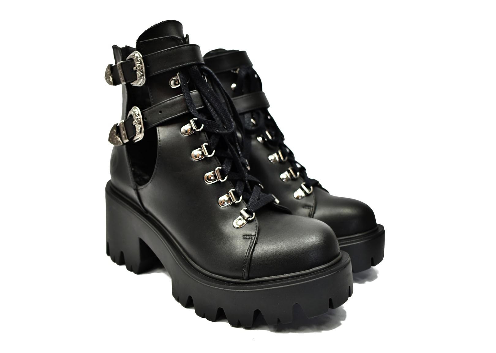 Bottines véganes | ALTERCORE Sadie Black | avesu chaussures