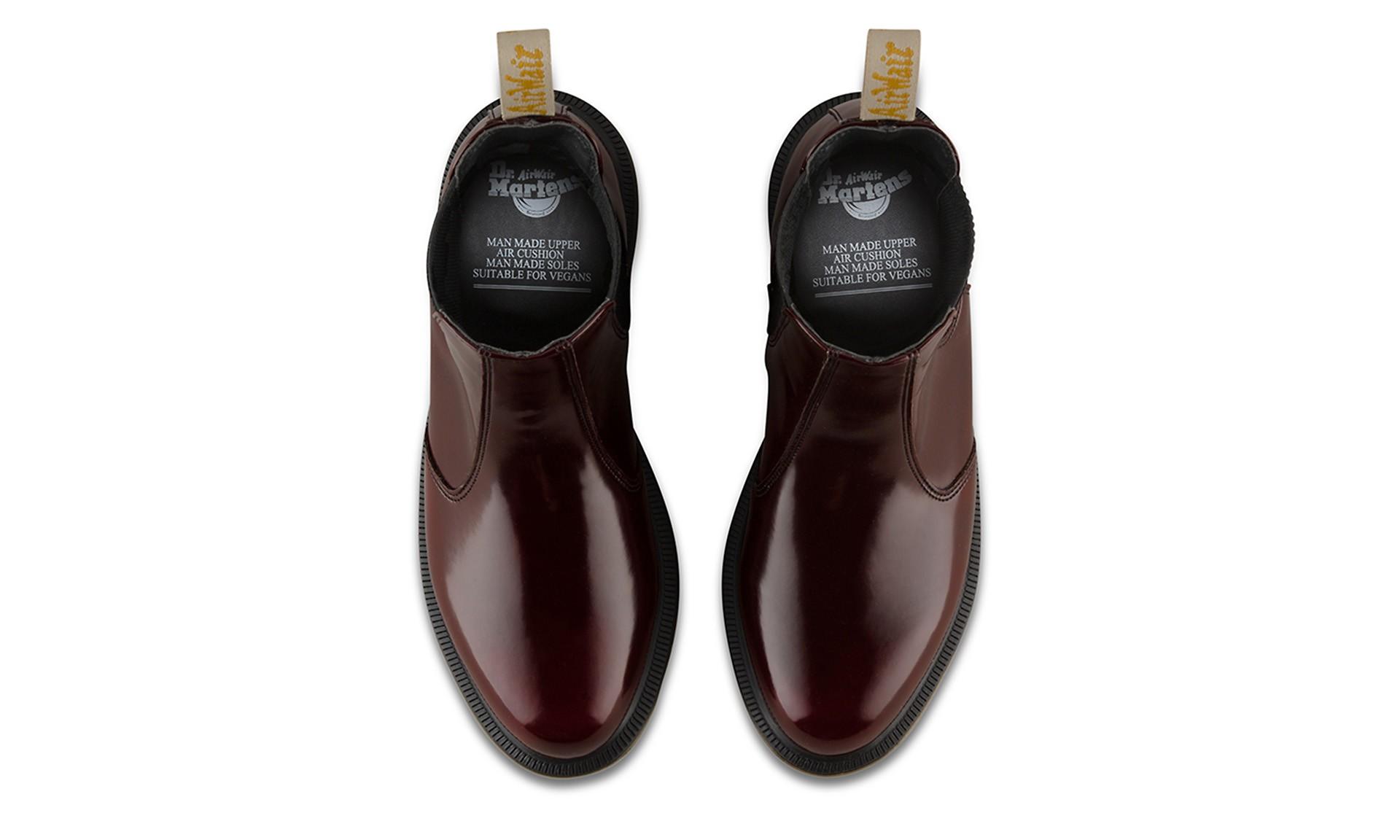 Flora Chelsea Boots UK 4 Cherry Red Arcadia | Chelsea