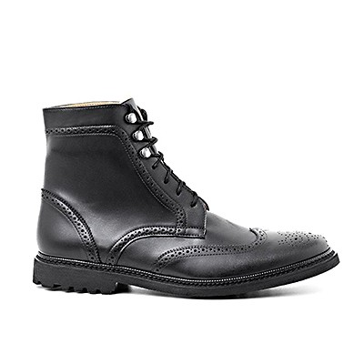 Wingtip Boot Black