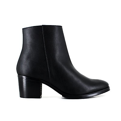 Vegane Damenstiefelette | VEGETARIAN SHOES Amelia Boot Black