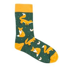 Vegane Socken   KABAK Socks Foxes