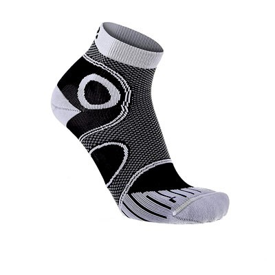 Vegane Socken | LOWA Eightsox Advanced Short Black/White