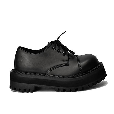 Veganer Schnürschuh | ALTERCORE 354 Black