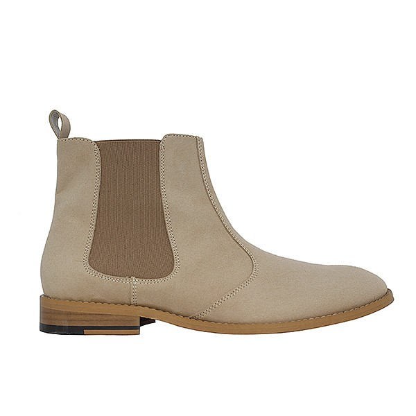Veganer Chelsea Boot | FAIR Chelsea Boot Men Beige