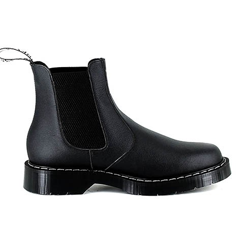 Veganer Chelsea Boot | VEGETARIAN SHOES Airseal Chelsea Boot Black