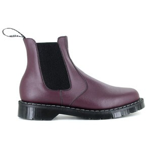 Veganer Chelsea Boot | VEGETARIAN SHOES Airseal Chelsea Boot Burgundy