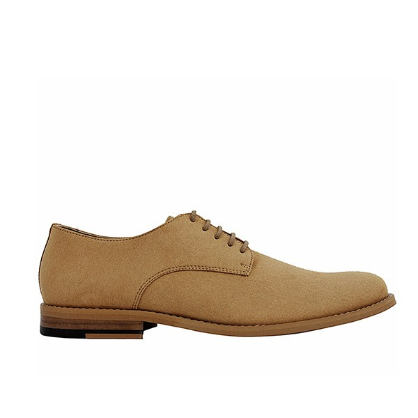 Veganer Schnürschuh | FAIR Derby Shoe Light Brown