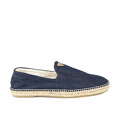 Vegane Espadrille | SLOWERS Apolo Jeans Dark