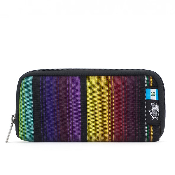 Vegane Brieftasche | ETHNOTEK Chiburi Accordion Wallet Guatemala 1