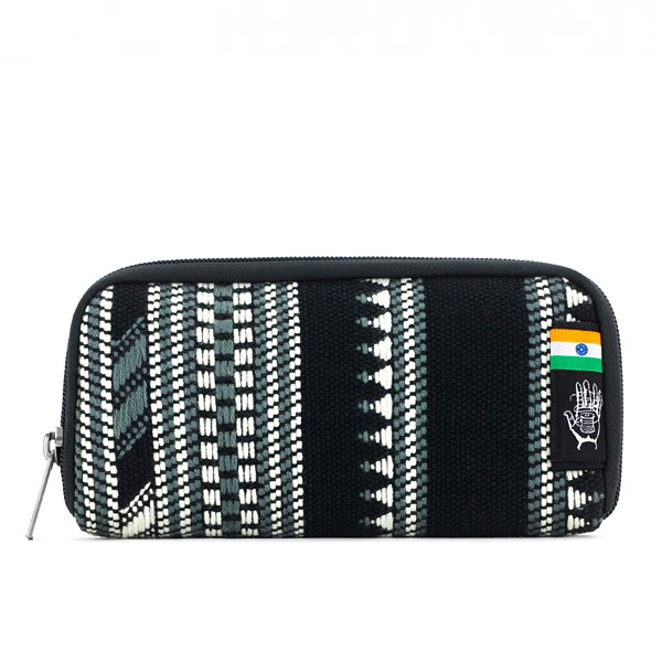 Vegane Brieftasche | ETHNOTEK Chiburi Accordion Wallet India 10