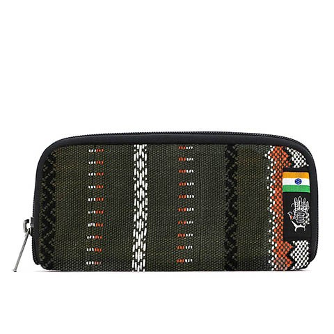 Vegane Brieftasche | ETHNOTEK Chiburi Accordion Wallet India 12