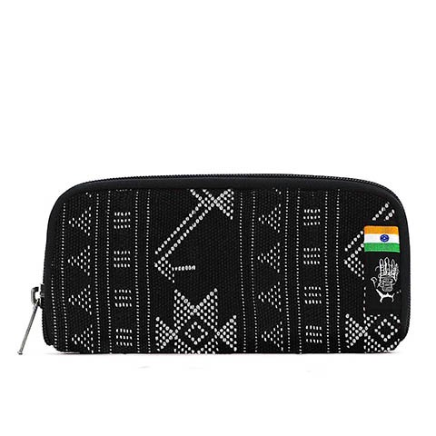Vegane Brieftasche | ETHNOTEK Chiburi Accordion Wallet India 17
