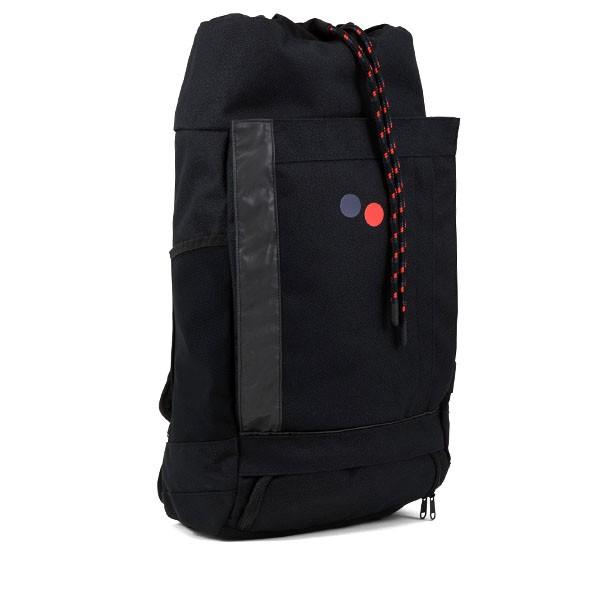 Veganer Rucksack | PINQPONQ Blok Large Licorice Black