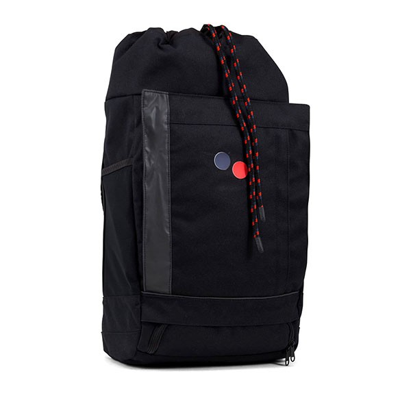 Veganer Rucksack | PINQPONQ Blok Medium Licorice Black