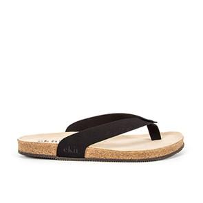 Vegane Sandale | EKN Footwear Sandal Cork Black