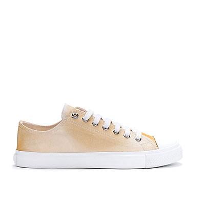 Veganer Sneaker | ETHLETIC Fair Trainer White Cap Lo Cut Golden Shine