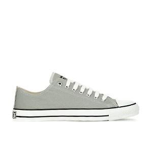 Veganer Sneaker | ETHLETIC Fair Trainer White Cap Lo Cut Urban Grey