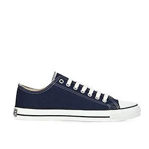Veganer Sneaker | ETHLETIC Fair Trainer White Cap Lo Cut Ocean Blue
