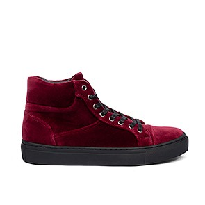 Veganer Sneaker | GRAND STEP SHOES Sally Velvet Berry