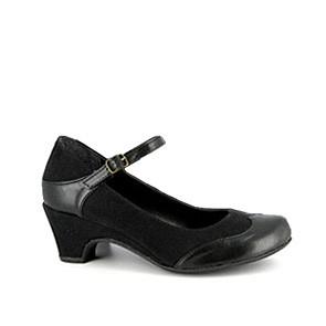 Vegane Pumps | VEGETARIAN SHOES Babette Shoe Black