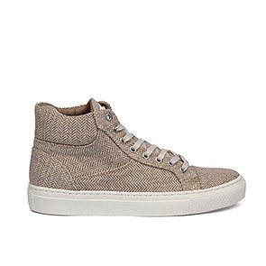Veganer Sneaker | GRAND STEP SHOES Sally Tweed Beige