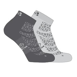 Vegane Socken | LOWA Eightsox Mid Nature Grey/Anthracite