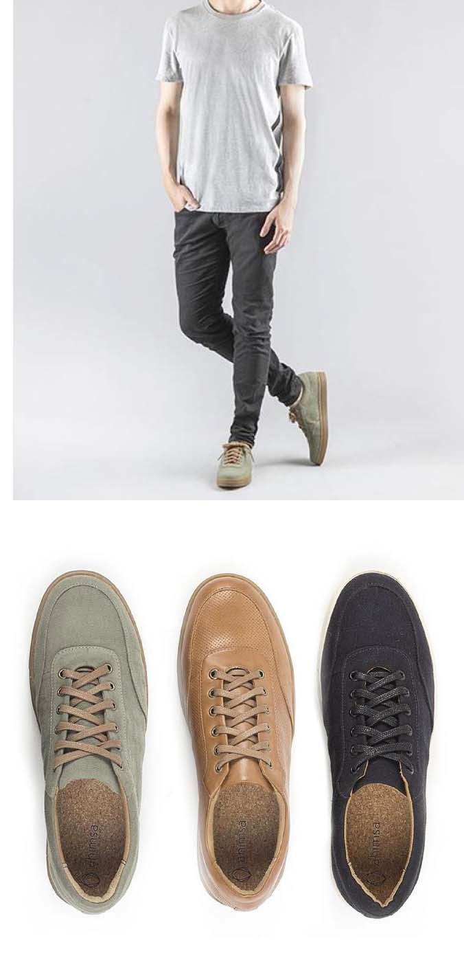 NOUVEAUX   Sneakers véganes AHIMSA   Acheter en ligne