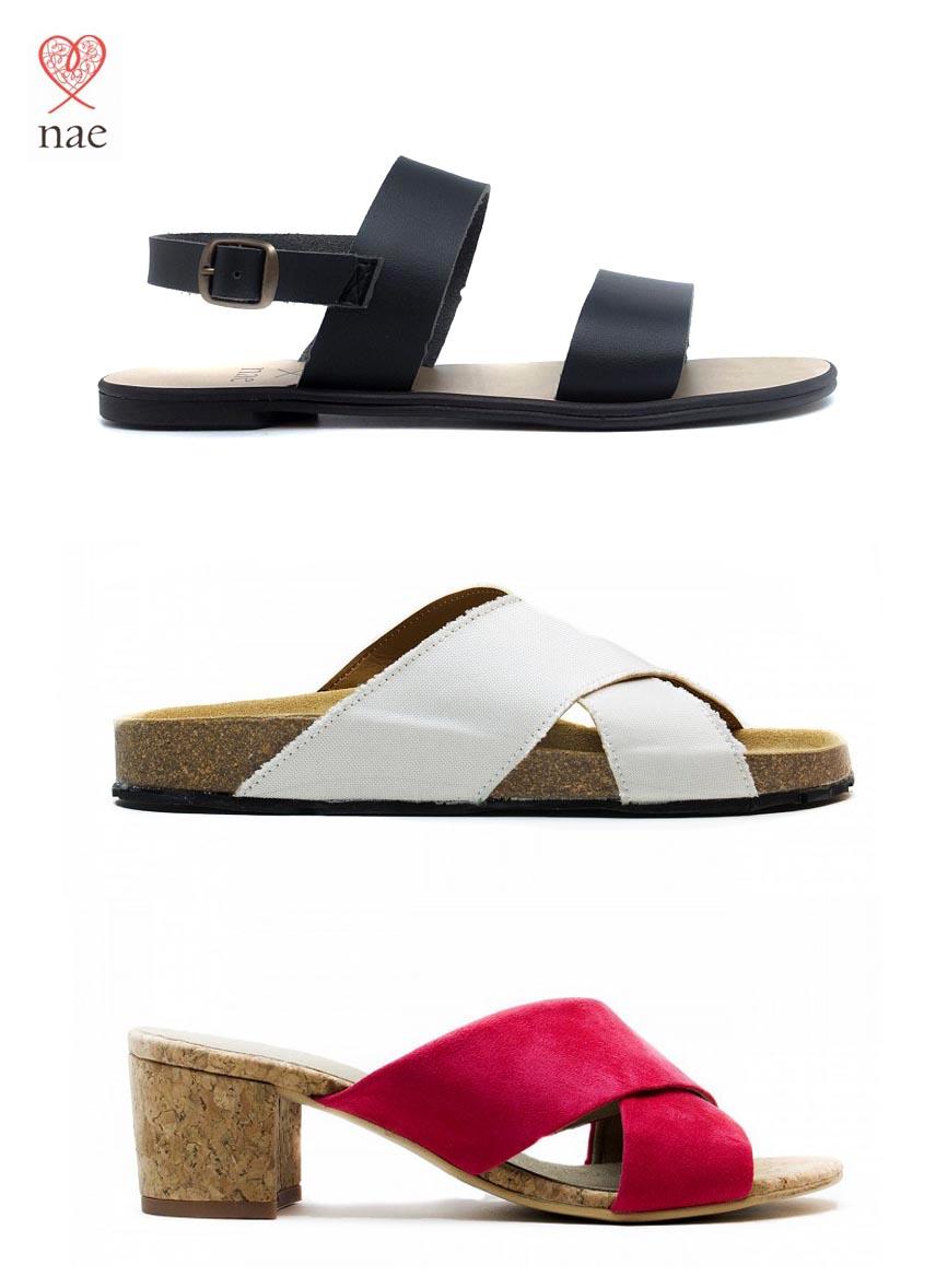 Nouveau | sandales véganes NAE | Acheter en ligne