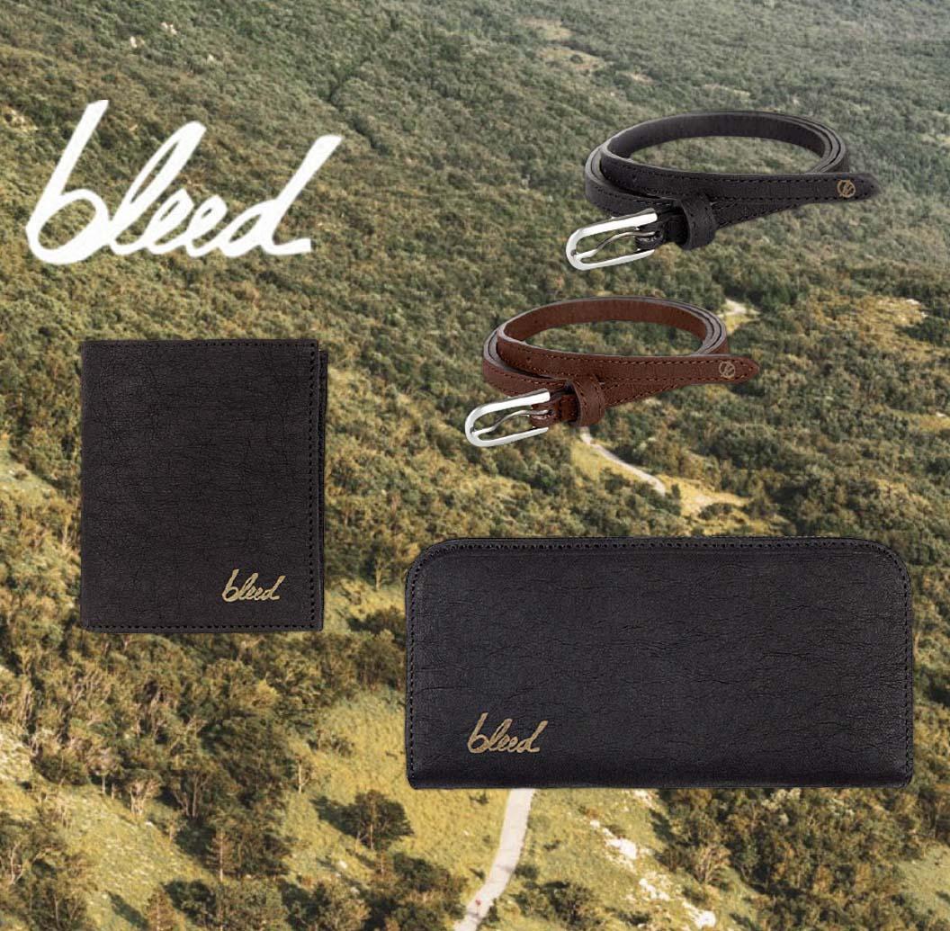 Accessoires Véganes BLEED | Ceintures, Porte-monnaies, Chaussettes | Acheter en ligne