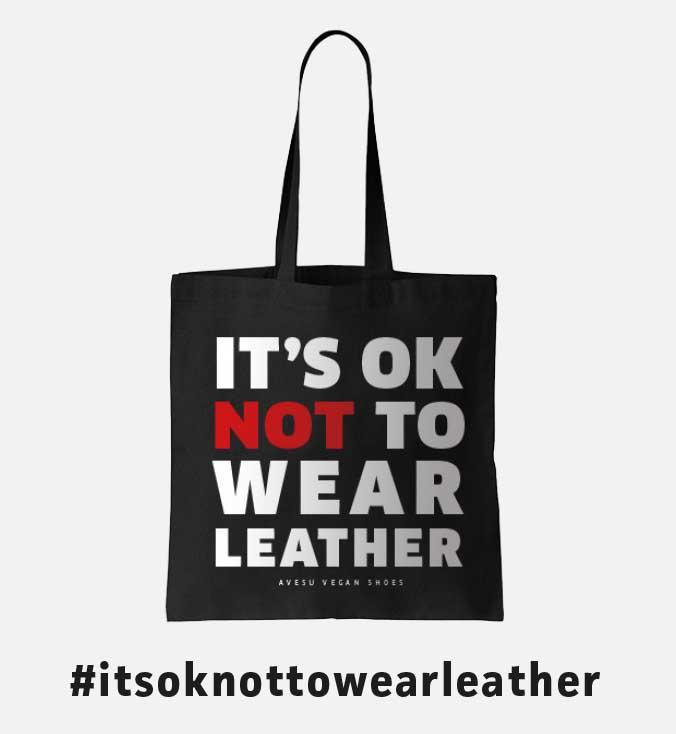 Sac cabas végane de AVESU | It's Ok Not To Wear Leather | Acheter en ligne !